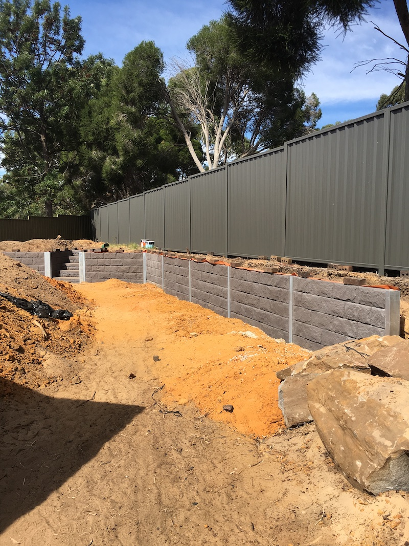 Are Concrete Sleeper Retaining Walls Strong Gorilla Wall